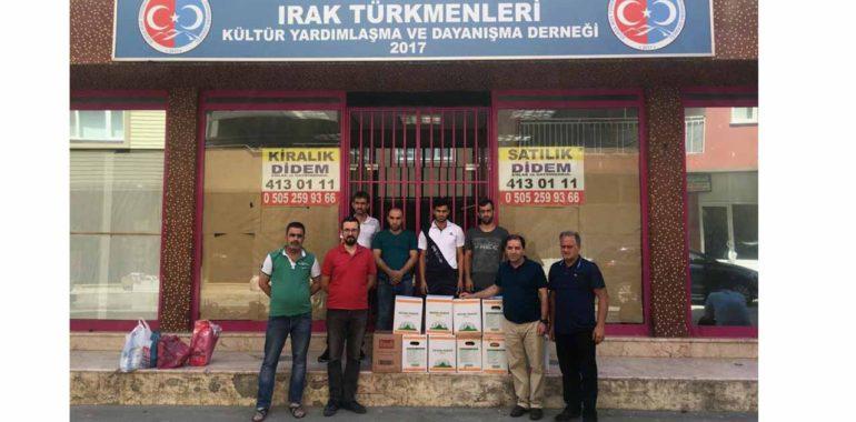 Erzak Paketleri Ailelere Ulaştı