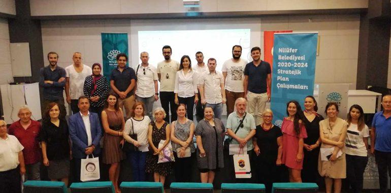 Nilüfer Belediyesi Strateji Toplantısına Katıldık