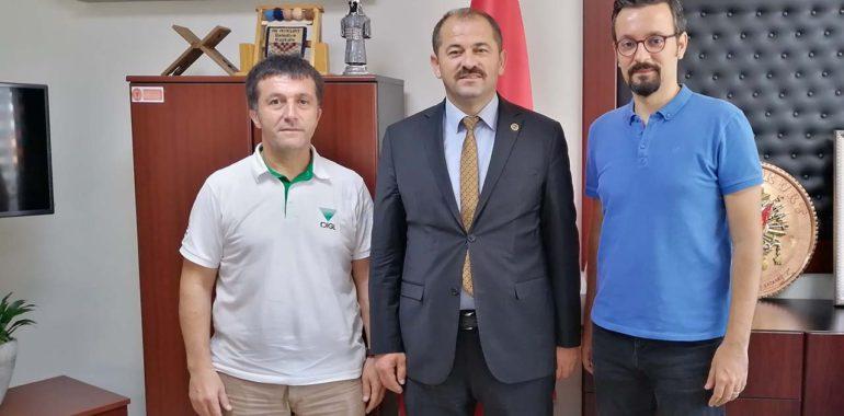 Orhaneli Belediye Başkanı Ali Aykurt'u Ziyaret Ettik